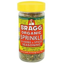 Bragg Organic Sprinkle 24 Herbs Spices Seasoning 1 5 Oz