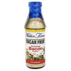 Walden Farms Sugar Free Salad Dressing Creamy Bacon 12 Oz