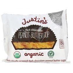 Justin's Nut Butter Peanut Butter Cups Dark Chocolate 5 Oz