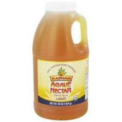 Madhava Natural Sweeteners Agave Nectar Light 46 Oz