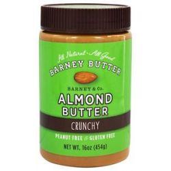 Barney Butter All Natural Almond Butter Crunchy 16 Oz