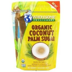 Wholesome Sweeteners Organic Coconut Palm Sugar 1 Lb