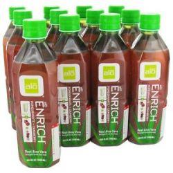 Alo Original Aloe Drink Enrich Aloe Pomegranate Cranberry 16 9 Oz