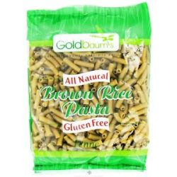 Goldbaum's All Natural Brown Rice Pasta Gluten Free Penne 16 Oz