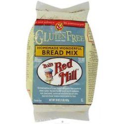 Bob's Red Mill Gluten Free Homemade Wonderful Bread Mix 16 Oz