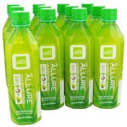 Alo Original Aloe Drink Allure Aloe Mangosteen Mango 16 9 Oz