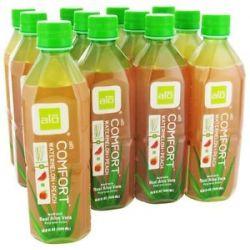 Alo Original Aloe Drink Comfort Aloe Watermelon Peach 16 9 Oz