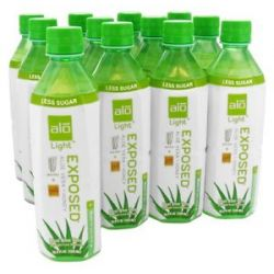 Alo Original Aloe Drink Exposed Light Aloe Vera Honey 16 9 Oz