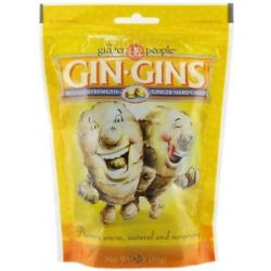 Ginger People Gin Gins Double Strength Ginger Hard Candy 3 Oz