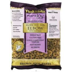 Tinkyada Pasta Brown Rice Pasta Elbow with Rice Bran 16 Oz