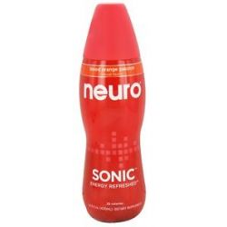 Neuro Sonic Lightly Carbonated Nutritional Supplement Drink Blood Orange