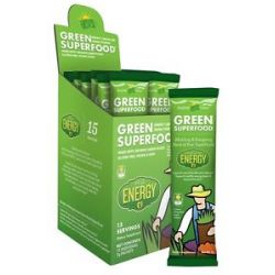 Amazing Grass Green Superfood Energy Drink Powder Lemon Lime 15 Packet S