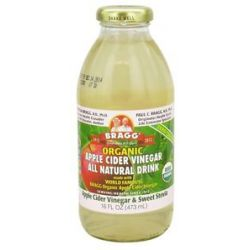 Bragg Organic Apple Cider Vinegar All Natural Drink Vinegar Sweet Stevia