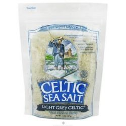 Selina Naturally Celtic Sea Salt Resealable Bag Light Grey Course 8 Oz