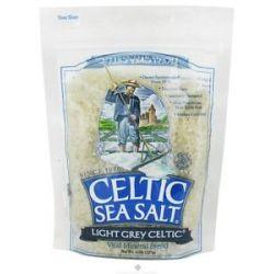 Selina Naturally Celtic Sea Salt Resealable Bag Light Grey Course 8 Oz
