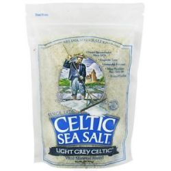 Selina Naturally Celtic Sea Salt Resealable Bag Light Grey Course 1 Lb