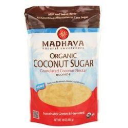 Madhava Natural Sweeteners Organic Coconut Sugar Coconut Nectar 16 Oz