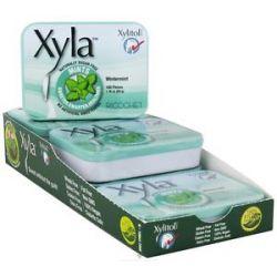 Xylitol USA Xyla Naturally Sugar Free Mints Wintermint 100 Piece S