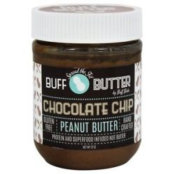 Buff Bake Buff Butter Gluten Free Peanut Butter Chocolate Chip Peanut Butter