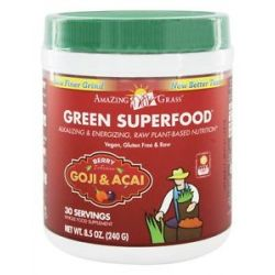 Amazing Grass Green Superfood Drink Powder 30 Servings Berry Flavor 8 5 Oz