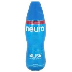 Neuro Bliss Lightly Carbonated Nutritional Supplement Drink White Raspberry