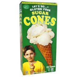 Let's do Gluten Free Sugar Cones 4 6 Oz