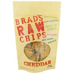 Brad's Raw Foods Vegan Chips Cheddar 3 Oz