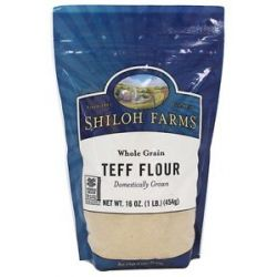Shiloh Farms Whole Grain Teff Flour 16 Oz