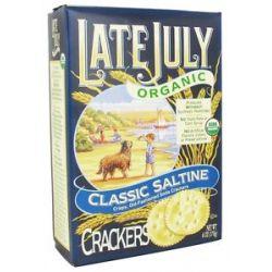 Late July Organic Classic Saltine Crackers 6 Oz