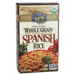 Lundberg Organic Whole Grain Spanish Rice 6 Oz