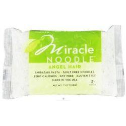 Miracle Noodle Shirataki Pasta Angel Hair 7 Oz