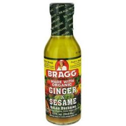 Bragg Organic Ginger and Sesame Dressing 12 Oz