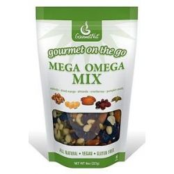 Gourmet Nut Gourmet on The Go Mega Omega Mix 8 Oz