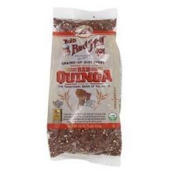 Bob's Red Mill Organic Whole Grain Red Quinoa 1 Lb