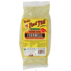 Bob's Red Mill Organic Medium Grind Cornmeal 24 Oz