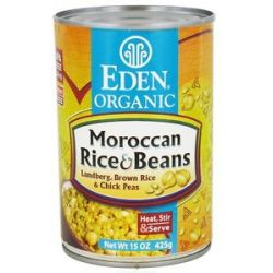 Eden Foods Organic Moroccan Rice and Beans 15 Oz