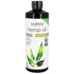 Nutiva Hemp Oil Organic Cold Pressed 24 Oz
