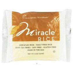 Miracle Noodle Miracle Shirataki Rice 8 Oz