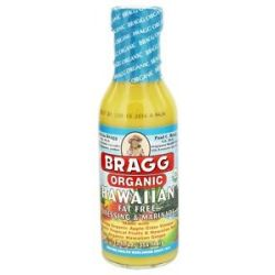Bragg Organic Fat Free Dressing Marinade Hawaiian 12 Oz