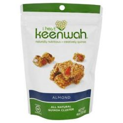 I Heart Keenwah All Natural Quinoa Clusters Almond 4 Oz