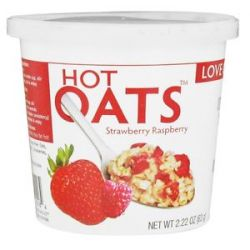 Love Grown Foods Hot Oats Strawberry Raspberry 2 22 Oz