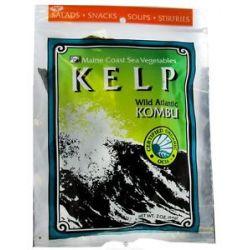 Maine Coast Sea Vegetables Wild Atlantic Kombu Kelp 2 Oz
