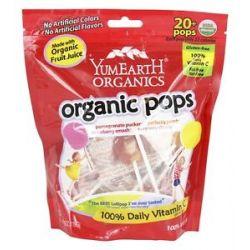 Yummy Earth Organic Gluten Free Pops 20 Lollipop S