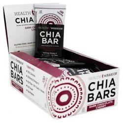 Health Warrior Chia Bar Dark Chocolate Cherry 0 88 Oz