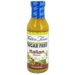 Walden Farms Sugar Free Salad Dressing Italian 12 Oz