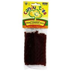 Candy Tree Organic Twists Licorice Strawberry 2 6 Oz