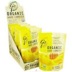 Go Naturally Organic Hard Candies Honey Lemon 3 5 Oz