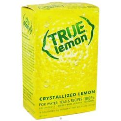True Citrus True Lemon Crystallized Lemon 32 x 8g Packets 0 91 Oz