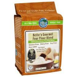 Authentic Foods Gluten Free Bette's Gourmet Four Flour Blend 3 Lbs