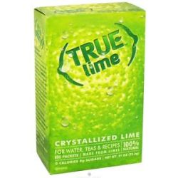 True Citrus True Lime Crystallized Lime 32 x 8g Packets 0 91 Oz